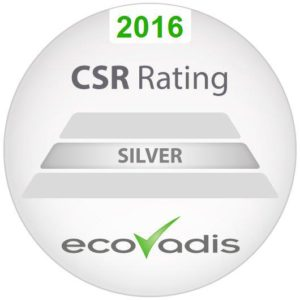 EcoVadis Silver Rating