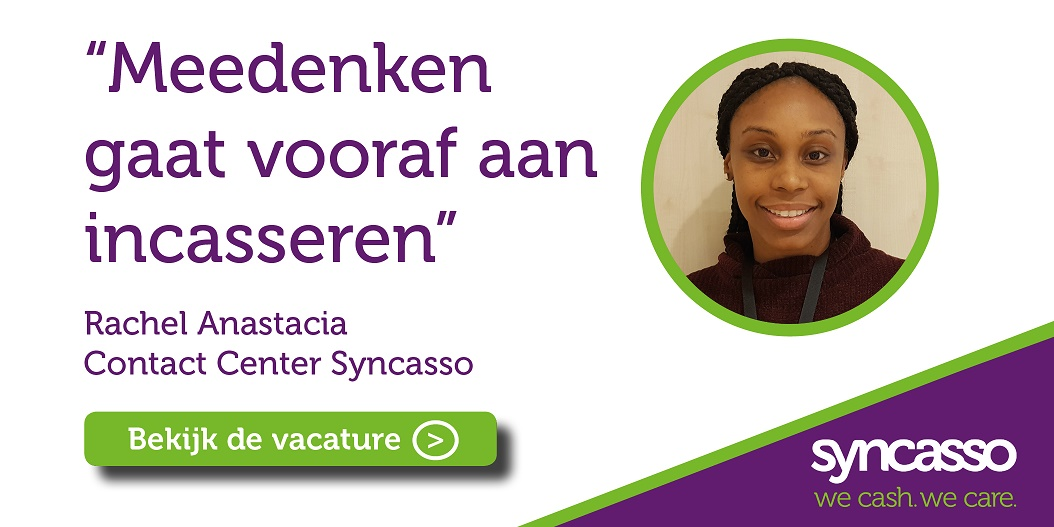 vacature Contact Center Syncasso